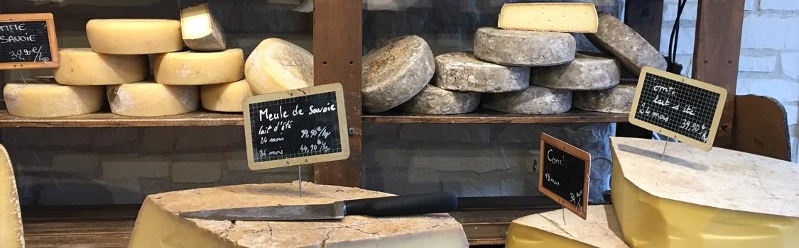 Plusieurs sortes de fromage