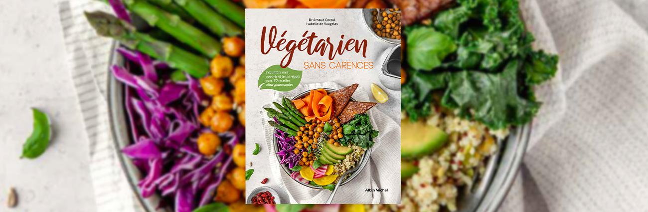 livre végétarien sans carence isabelle de vaugelas