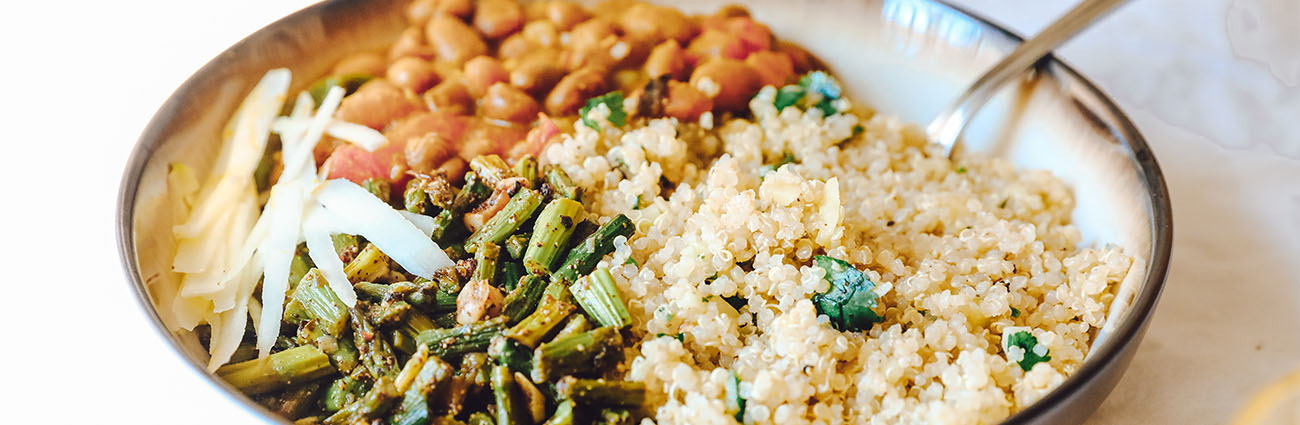 quinoa et féculent