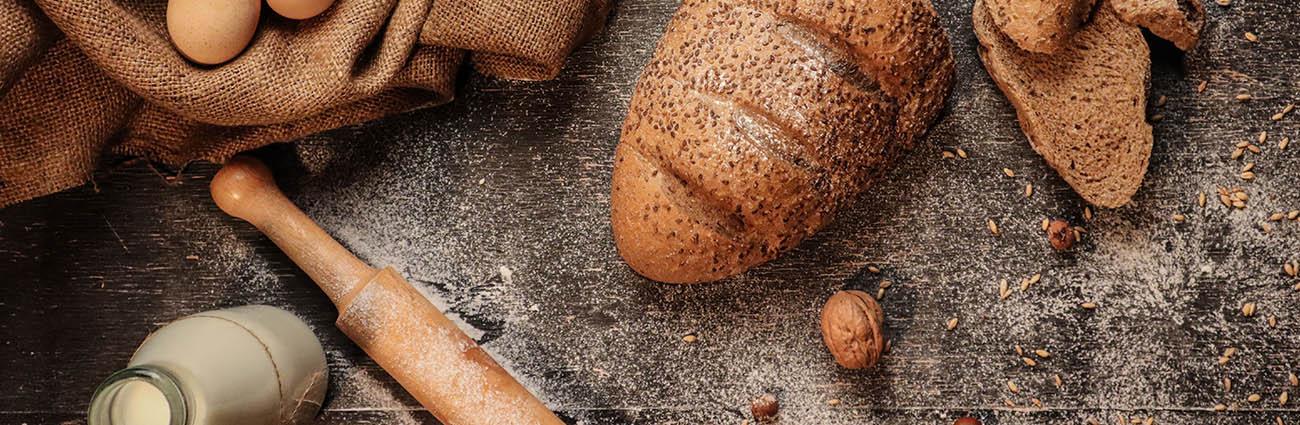 pain à base de farine sans glutent